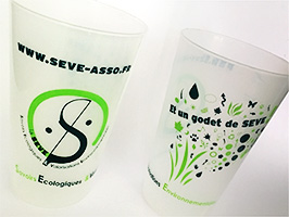 Gobelet SEVE - Association La SEVE